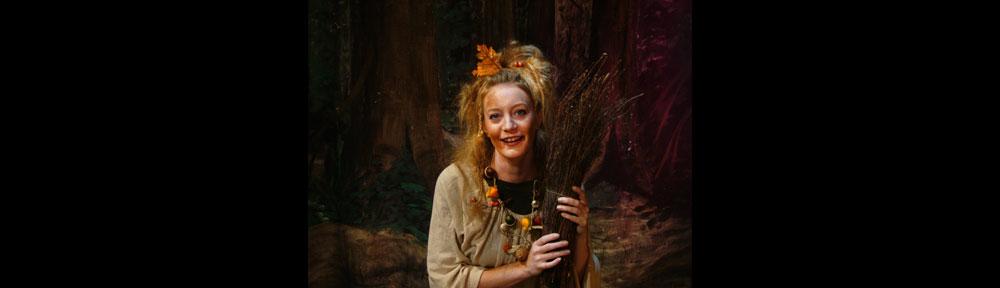 Kinder-und Jugendtheater Frankfurt Zauberhafte Waldhexe