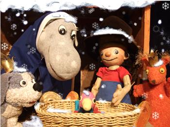 Der kleine König feiert Weihnachten - Marotte Theater bei - Kinder- und Jugendtheater Frankfurt