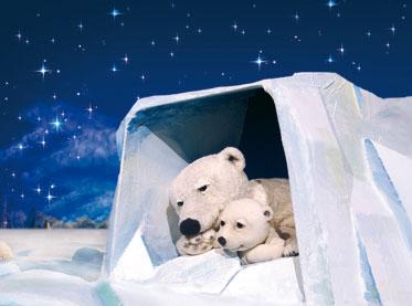 Marotte Figurentheater - Der kleine Eisbär im Kinder- und Jugendtheater Frankfurt