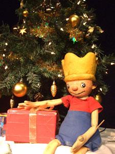 Marotte Der kleine König feiert Weihnachten bei Ihrem Kinder- und Jugendtheater Frankfurt