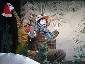 Pettersson und Findus feiern Weihnachten