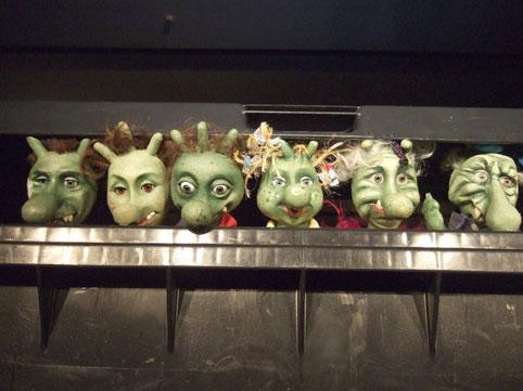 Die Olchies im Kinder-und Jugendtheater Frankfurt