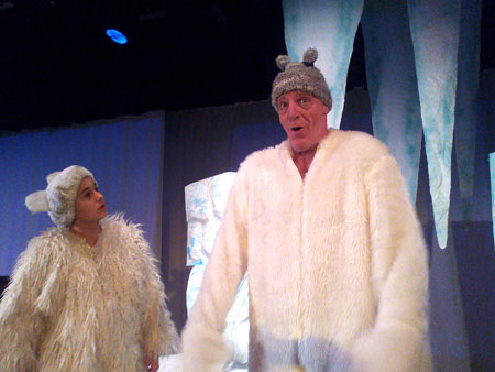 Lars der kleine Eisbär im Kinder-und Jugendtheater Frankfurt