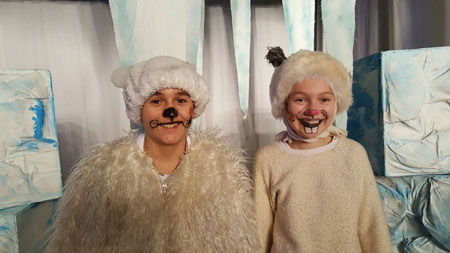 Der kleine Eisbär und der Schneehase im Kinder-und Jugendtheater Frankfurt