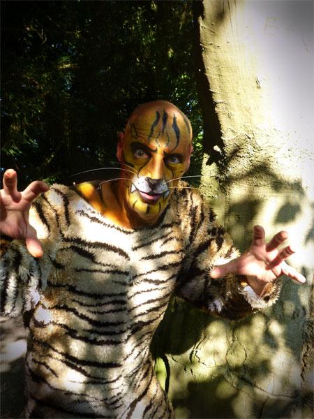 Dschungelbuch -der Tiger kommt - im Kinder- und Jugendtheater Frankfurt