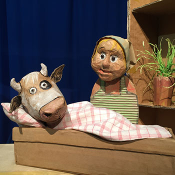 Kuh Lieselotte im Kinder-und Jugendtheater Frankfurt