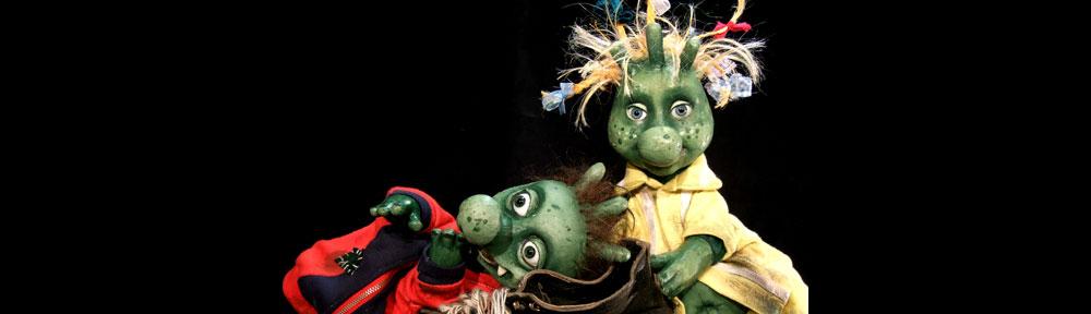 Die Olchies im Kinder- und Jugendtheater Frankfurt