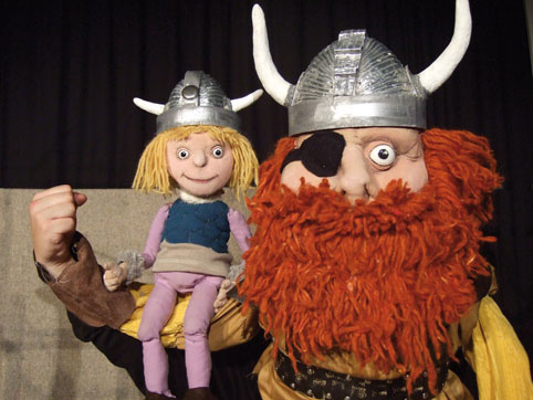 Der kleine Wikinger - Marotte Theater zu Gast im Kinder-undJugend-Theater