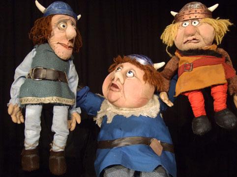 Wickie - Marotte Theater zu Gast im Kinder-undJugend-Theater