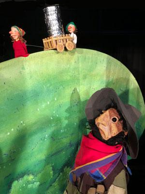 Zu Gast im Kinder- und Jugendtheater Kiju: Marotte Theater Hotzenplotz und die Mondrakete